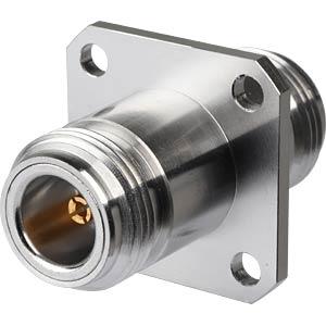 N-Adapter, Buchse auf Buchse, Flansch RADIALL R161715000W