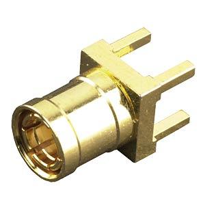 SMB-Print-Einbaustecker für RG174/U, stehend FREI