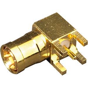 SMB PCB panel plug 90° for RG174/U FREI