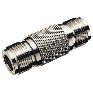 N connector, straight, socket/socket FREI
