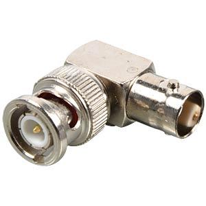 BNC angled plug, plug/socket FREI