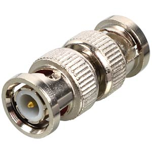 BNC connector, straight, 2xplugs FREI