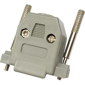 D-Sub-Cap, 15-pin, ABS RND CONNECT RND 205-00712