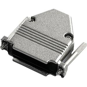 D-Sub-Cap, 25-pin, metal, zinc alloy RND CONNECT RND 205-00722