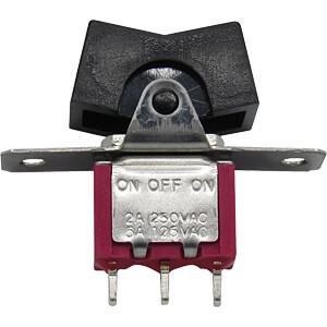 Miniatur-Wippschalter, Ein-Aus-Ein RND COMPONENTS RND 210-00500
