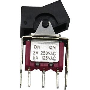 Miniatur-Wippschalter, Ein-Ein RND COMPONENTS RND 210-00503