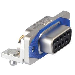 """D-Sub  connector socket 09p IP67 0,318"""" CONEC 15-006593"""