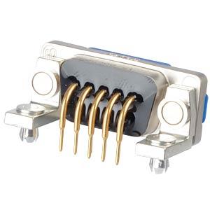 SlimCon D-Sub - Buchse, 9-pol, IP67, PCB-Clip CONEC 15-006593