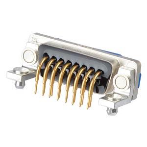 """D-Sub  connector socket 15p IP67 0,318"""" CONEC 15-006603"""