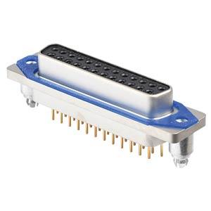 SlimCon D-Sub - Buchse, 25-pol, IP67, Lötstift CONEC 15-006513