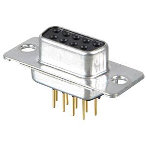 D-SUB socket, 9-pin, industrial design CONEC 164B10069X