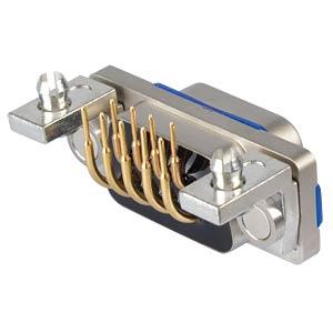 SlimCon D-Sub - Stift, 9-pol, IP67, PCB-Clip CONEC 15-006543