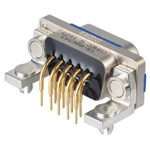 """D-Sub  connector pin 09p IP67 0,318"""" CONEC 15-006543"""