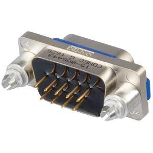 SlimCon D-Sub - Stift, 9-pol, IP67, Lötstift CONEC 15-006443