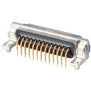 SlimCon D-Sub - Stift, 25-pol, IP67, PCB-Clip CONEC 15-006563
