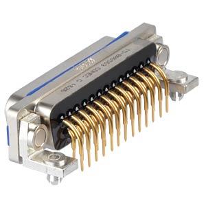 """D-Sub  connector pin 25p IP67 0,318"""" CONEC 15-006563"""