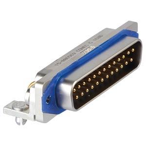 D-Sub  connector pin 25p IP67 0,318 CONEC 15-006563