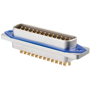 SlimCon D-Sub - Stift, 25-pol, IP67, Lötkelch CONEC 15-006363