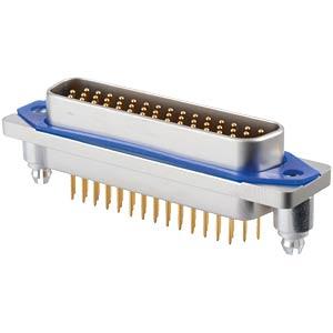 SlimCon D-Sub - Stift, 44-pol, HD, Lötstift CONEC 15-007603