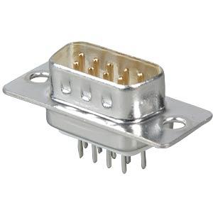 D-SUB-Stecker, 9-polig, Printausführung FREI