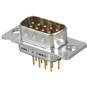 D-SUB-Stecker, 9-polig, Industrieausf. CONEC 163B11119X