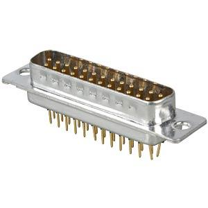 D-SUB plug, 25-pin, industrial design CONEC 163B11139X