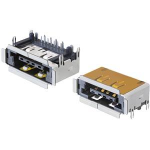 Panel jack, eSATA + USB 2.0 5V/12V DELOCK 65297