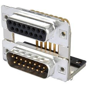 D-SUB, Dual Port, Buchse-Stecker, 2x15-polig CONEC 164A19969X