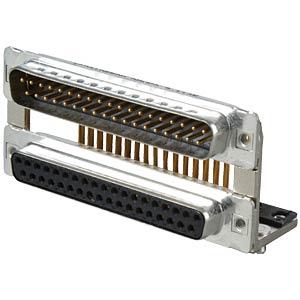 D-SUB, Dual Port, Stecker-Buchse, 2x37-polig CONEC 163A19559X
