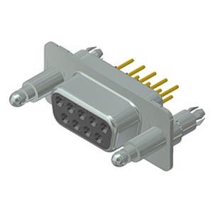 D-Sub-Buchse, 9-pol, SnapLock CONEC 16-002143