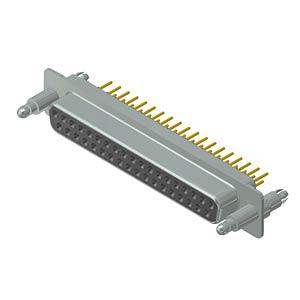 D-Sub-Buchse, 37-pol, SnapLock CONEC 16-002173