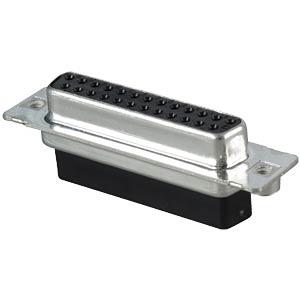 D-SUB-Buchse,25-polig, Crimp-Steckverbinder CONEC DSS3XSXXG04X
