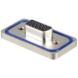 D-Sub 15-pin socket strip, high density, solder CONEC 15-000693E
