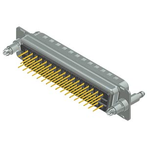 D-Sub-Stecker, 50-pol, Stiftkontakte CONEC 16-002133