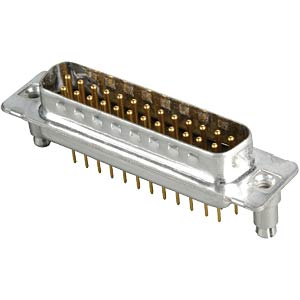 D-SUB-Stecker,25-polig,Print,Clip,gedr. Kontakte CONEC 163A16179X