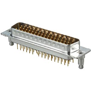 D-SUB-Stecker,50-polig,Print,Clip,gedr. Kontakte CONEC 163A16199X