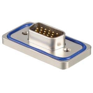 D-Sub-Stiftleiste, High Density, 15-pol, Löt CONEC 15-000653