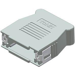 D-Sub-Haube, 15-pol, SnapLock CONEC 16-001760