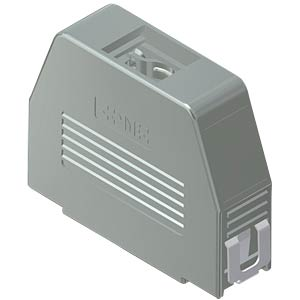 D-sub hood, 25-pin, snap-lock CONEC 16-001770