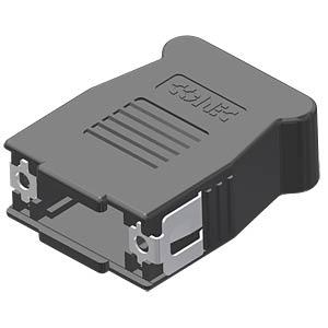 D-Sub-Haube, 9-pol, SnapLock CONEC 16-001810