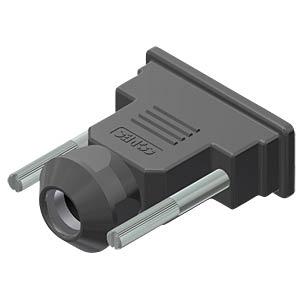 D-Sub-Haube, 15-pol, Kunststoff CONEC 15-004670