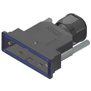 D-sub hood, 25-pin, plastic CONEC 15-004680