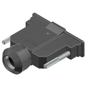 D-Sub-Haube, 37-pol, Kunststoff CONEC 15-004690