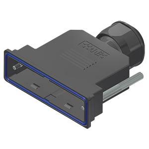 D-Sub-Haube, 50-pol, Kunststoff CONEC 15-004700