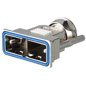 D-Sub-Haube, 15-pol, Kunststoff metallisiert CONEC 15-004770