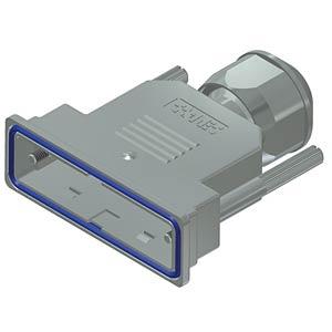 D-Sub-Haube, 25-pol, Kunststoff metallisiert CONEC 15-004780