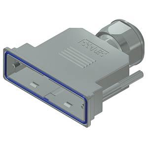 D-Sub-Haube, 50-pol, Kunststoff metallisiert CONEC 15-004800