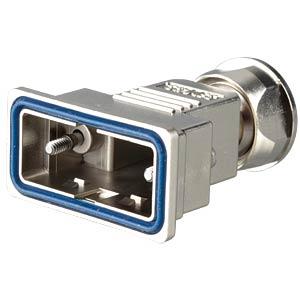 D-Sub-Haube, 9-pol, Kunststoff metallisiert CONEC 15-004810
