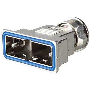 D-sub hood, 15-pin, metallised plastic CONEC 15-004820