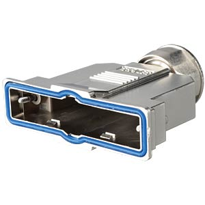 D-sub hood, 37-pin, metallised plastic CONEC 15-004840